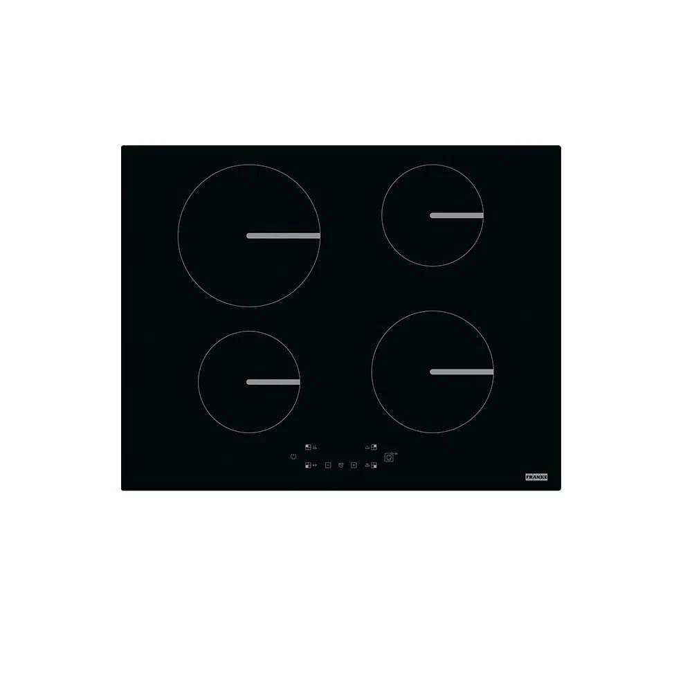 COOKTOP INDUÇÃO FRANKE SMART FSM 654 I BK VITROCERÂMICO 4 ZONAS COM DISPLAY TOUCH COM 9 NIVEIS DE POTÊNCIA 220V