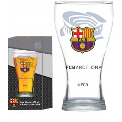 COPO SHAPE 470 ML BARCELONA ESTÁDIO GLOBIMPORT TRANSPARENTE