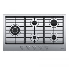 COOKTOP GORENJE 5 QUEIMADORES A GAS HOME MADE 88CM INOX 220V