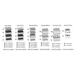 CONSERVADOR E EXPOSITOR DE BEBIDAS LOFRA/TECNO EM INOX ESCOVADO PISO/ EMBUTIR 136 LITROS 60 CM 220V