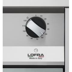 FOGÃO LOFRA NEW MAXIMA 5 QUEIMADORES A GÁS 90X60 FORNO ELÉTRICO DE 10 FUNÇÕES COM CHURRASQUEIRA E TIMER INOX POLIDO DE PISO/ EMBUTIR 220V