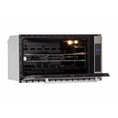 FORNO ELÉTRICO CUISINART PRIME COOKING GRILL ELÉTRICO 90CM 10 FUNÇÕES PAINEL DIGITAL TOUCH 125 LITROS 220V