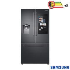 REFRIGERADOR SAMSUNG FRENCH DOOR FAMILY HUB 582 LITROS BLACK EDITION COM COOL SELECT ZONE 127V