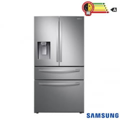 REFRIGERADOR  SAMSUNG  FRENCH DOOR RF22R 501 LITROS INOX COM FOOD SHOWCASE E GAVETA FLEXZONE ™220V ,