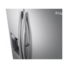 REFRIGERADOR  SAMSUNG  FRENCH DOOR RF22R 501 LITROS INOX COM FOOD SHOWCASE E GAVETA FLEXZONE ™220V
