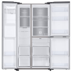 REFRIGERADOR  SAMSUNG SIDE BY SIDE RS65 COM FLEXZONE INOX LOOK 602 LITROS 220V