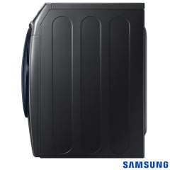 SECADORA SAMSUNG DV6500 MULTISTEAM COM PORTA CRYSTAL BLUE BLACK 18 KG 127V