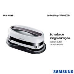 JETBOT MOP SAMSUNG VR6000TM ROBÔ PASSA PANO PARA LIMPEZA EFICIENTE