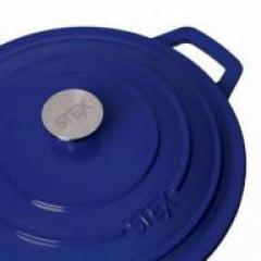 Caçarola azul 24cm Stex Cookware