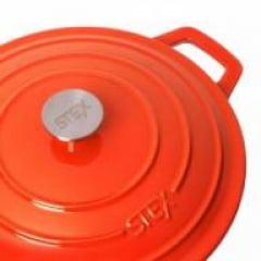 Caçarola laranja 28cm Stex Cookware