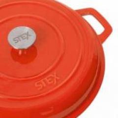 Caçarola buffet laranja 30cm Stex Cookware