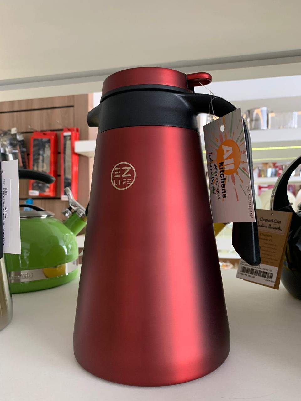 Garrafa térmica SVP1600 Vermelha EZ life